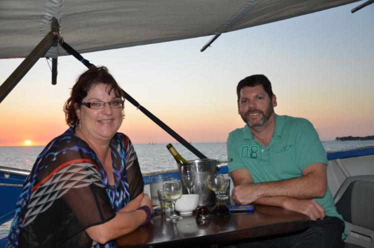 Sunset cruise, very nice.