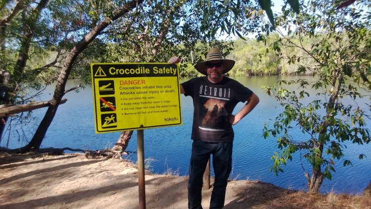 Malagu lagoon, close to where we bush camped in Kakadu.