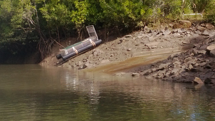 Umm the croc trap at the boat ramp did freak me out a bit!!