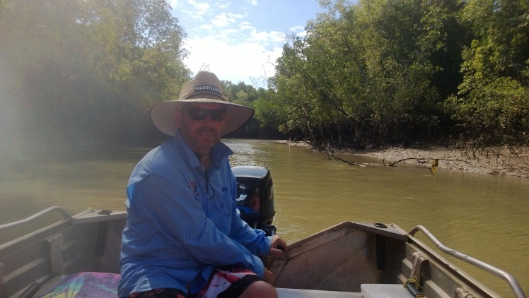 Leader creek fishing trip, no barra but a couple of NT muddies.