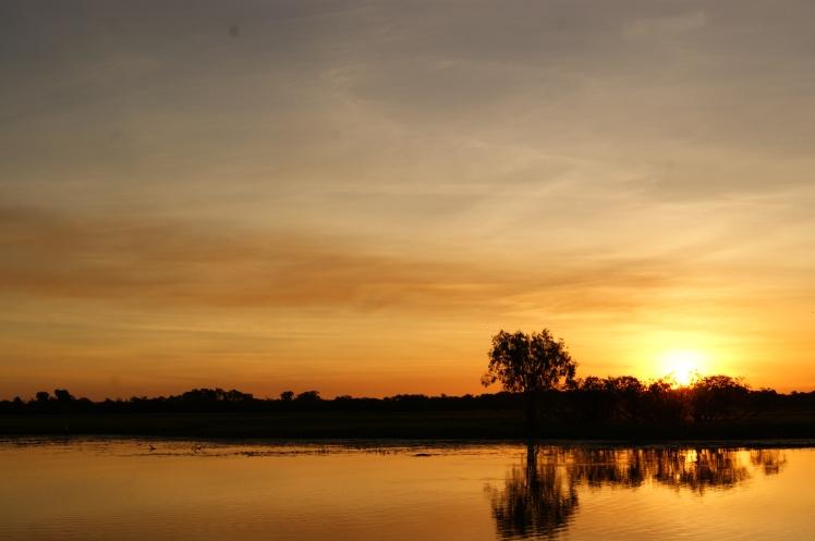 Sunset at kakadu
