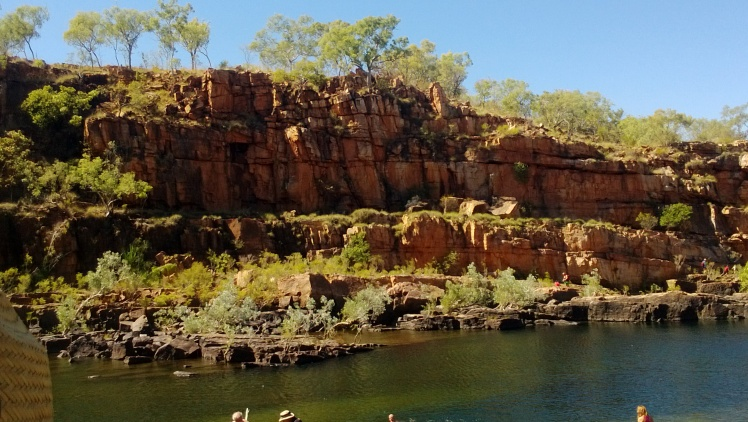 Beautiful green oasis- manning gorge
