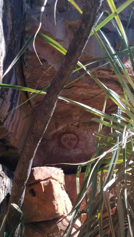 Rock art galvans gorge