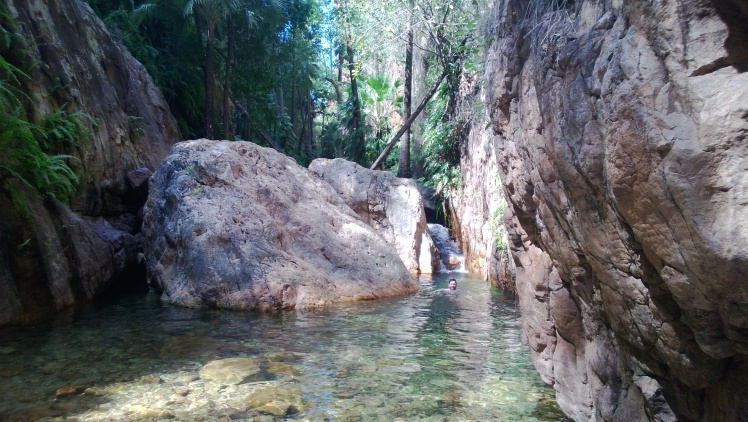 El questro gorge swim
