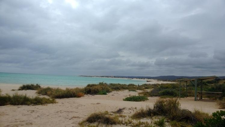 Sandy bay at Cape range national park