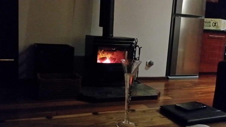 Prosecco fireside, what else could you want!!!