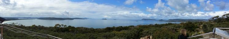 A panoramic shot.