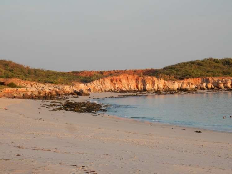the snorkelling beach